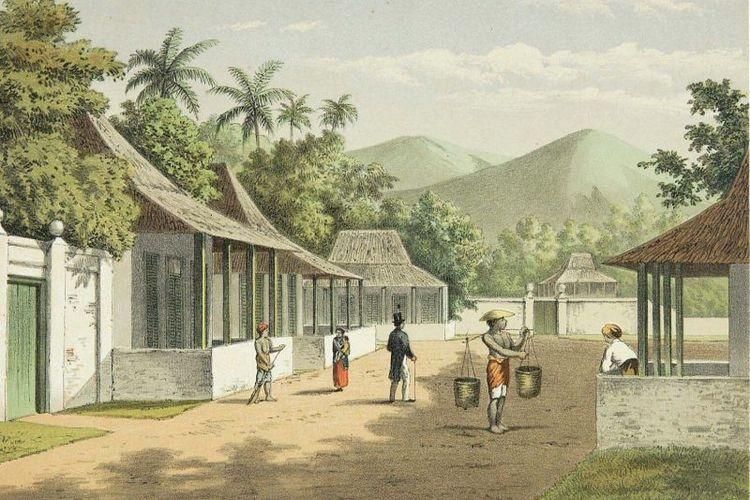 Jalan di Ambon tahun 1883 - 1889