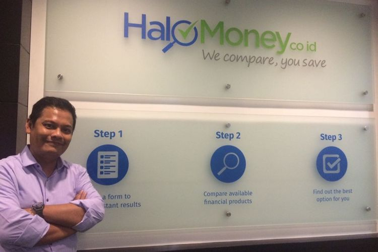 Managing Director HaloMoney.co.id. Riko Depari