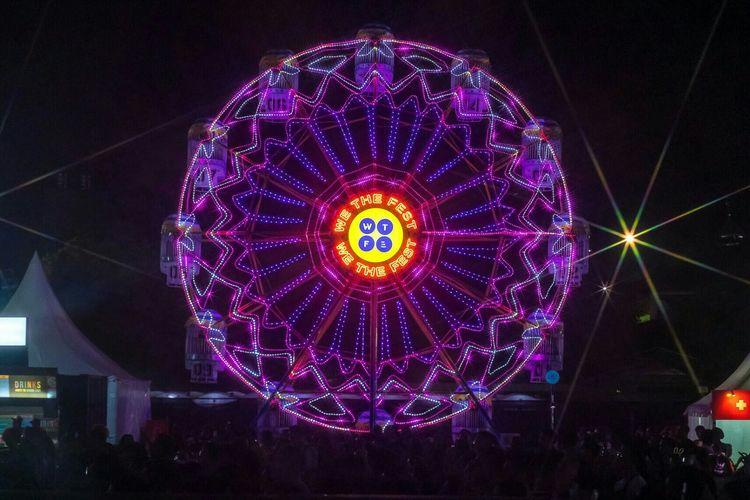 Bianglala di We The Fest 2019 di Jiexpo, Kemayoran, Jakarta Pusat, Sabtu (20/7/2019). Dok. We The Fest