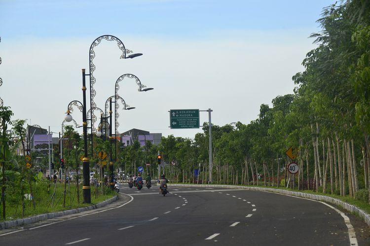 Jalan MERR II C bakal diresmikan Wali Kota Surabaya Tri Rismaharini pada Sabtu (15/2/2020) pekan depan.