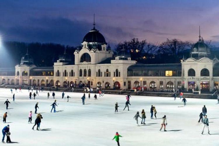City Park Ice Rink, di Budapest.