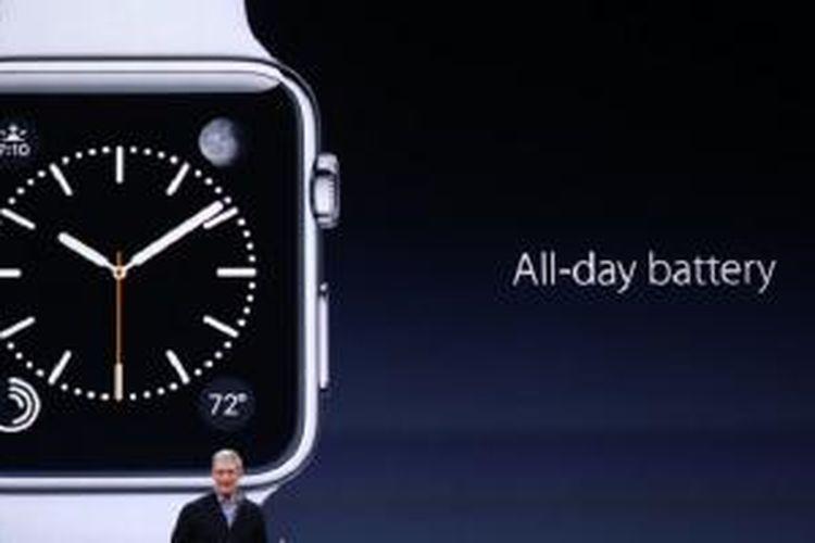 Baterai Apple Watch diklaim tahan sepajang hari