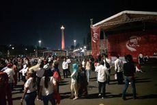 Jokowi Disebut Tak Bisa Hadir, Relawan di Taman Pandang Istana Membubarkan Diri