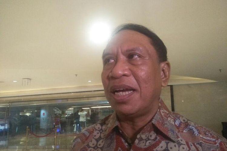 Menteri Pemuda dan Olahraga Zainudin Amali di Ciputra Artpreneur, Jakarta Selatan, Rabu (19/2/2020)