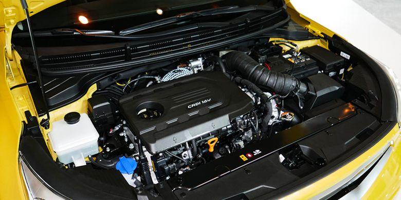 Kia Stonic dilengkapi mesin diesel 1.600 cc dengan torsi besar.