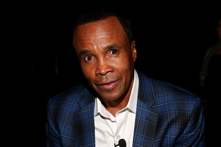 Petinju Dunia asal AS, Sugar Ray Leonard.
