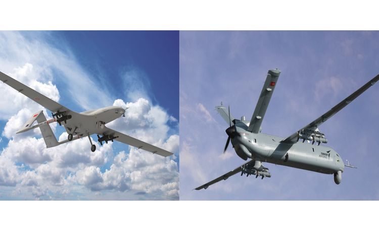 Drone Bayraktar-TB2 dan Anka-S