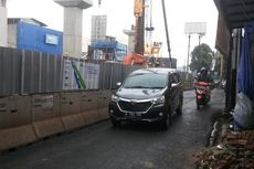 4 Februari-11 Agustus, Jalan Fatmawati di Haji Nawi Dipersempit Jadi 3 Meter