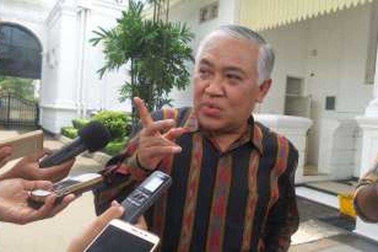 Ketua Dewan Pertimbangan Majelis Ulama Indonesia Din Syamsuddin.