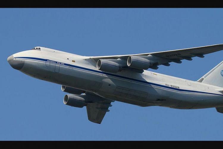Pesawat Antonov 24s buatan Rusia yang banyak digunakan negara-negara NATO.