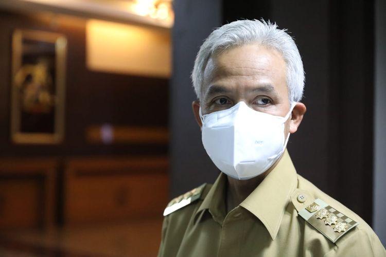 Gubernur Jawa Tengah (Jateng) Ganjar Pranowo.