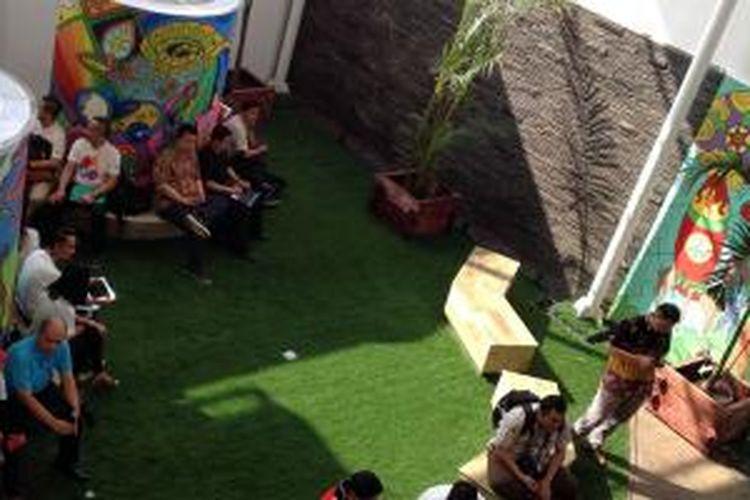 Telkomsel GraPARI Digilife di Dago, Bandung.