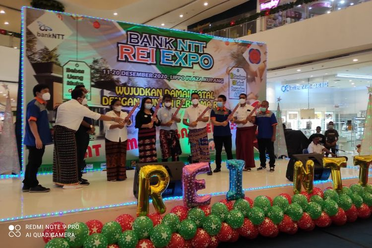 DPD Real Estat Indonesia (REI) Provinsi Nusa Tenggara Timur (NTT), menggelar Expo XIV 2020 di Lippo Plaza Kupang.