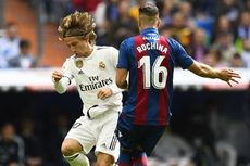 Hasil Real Madrid Vs Levante, Tren Negatif Modric cs Berlanjut