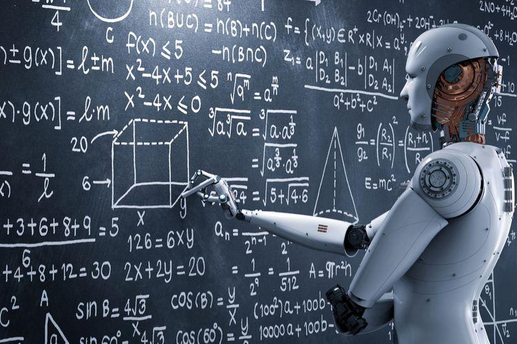 Ilustrasi AI, Artificial Intelligent (kecerdasan buatan)