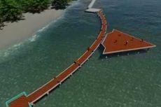 Pemkab Kepulauan Seribu Bangun Jembatan Panah Asmara di Pulau Tidung