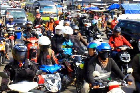 Melonjak, Kendaraan di Pantura Cirebon 10.000 Unit Per Jam