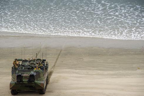 Dianggap Tewas, Pencarian 8 Marinir di Tank Amfibi yang Tenggelam Dihentikan