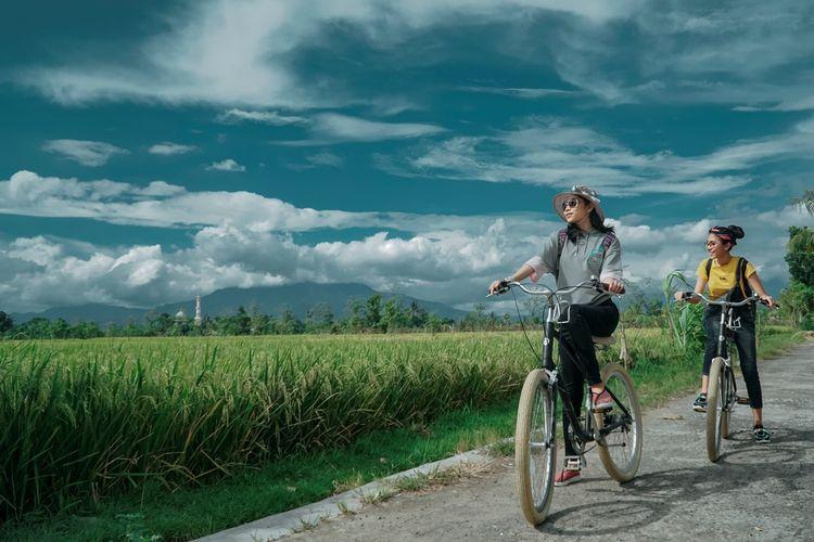 Tempat wisata bernama Desa Wisata Bilebante di Kabupaten Lombok Tengah, Nusa Tenggara Barat (dok. GoMandalika.com | Dinas Pariwisata dan Kebudayaan Lombok Tengah)