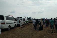Covid-19 di DKI Jakarta Meningkat, Mobil Ambulans Antre di TPU Rorotan