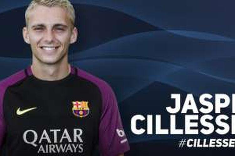 Barcelona mengumumkan transfer Jasper Cillessen dari Ajax Amsterdam, Kamis (25/8/2016).