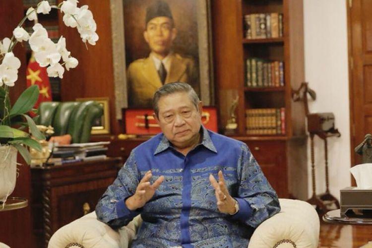 Presiden ke-6 RI Susilo Bambang Yudhoyono.