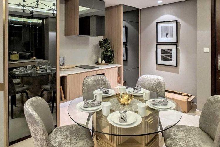 Dekorasi interior apartemen karya Pamela Novia-Saskaraliving