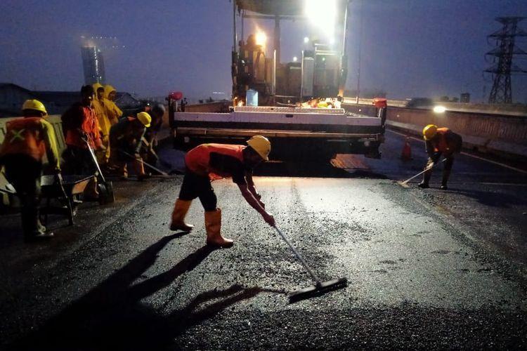 Akhir pekan ini ada pengerjaan Jalan Tol Layang Jakarta-Cikampek