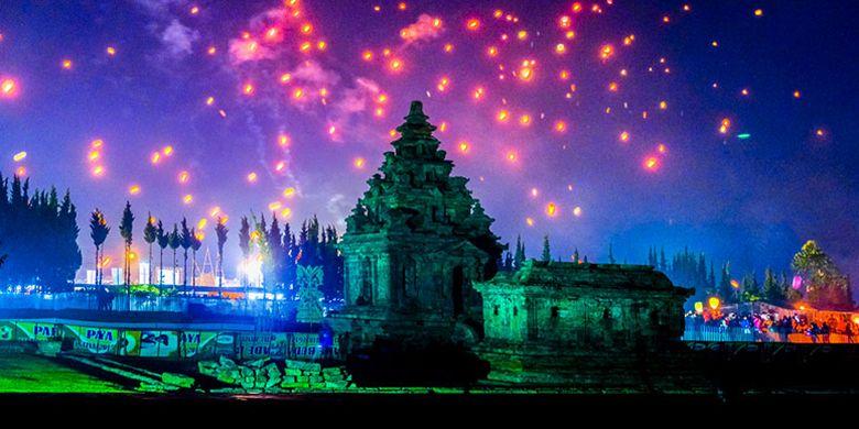 Kompleks Candi Arjuna, Dataran Tinggi Dieng, Jawa Tengah