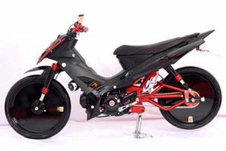 Kombinasi Warna Bikin Garang Yamaha Vega