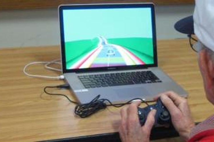 Ilustrasi game Neuroracer