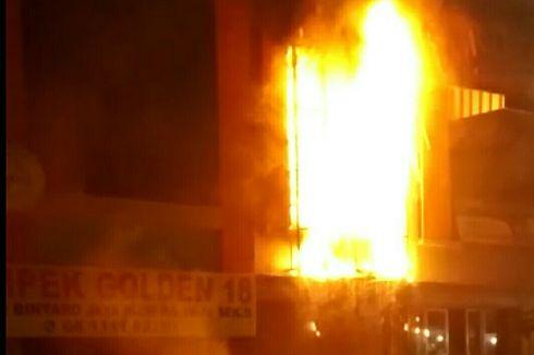 Kebakaran Pasar Modern Bintaro Diduga akibat Korsleting Listrik