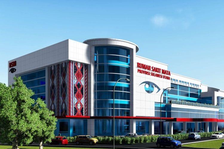Rumah Sakit Mata Manado, Provinsi Sulawesi Utara.