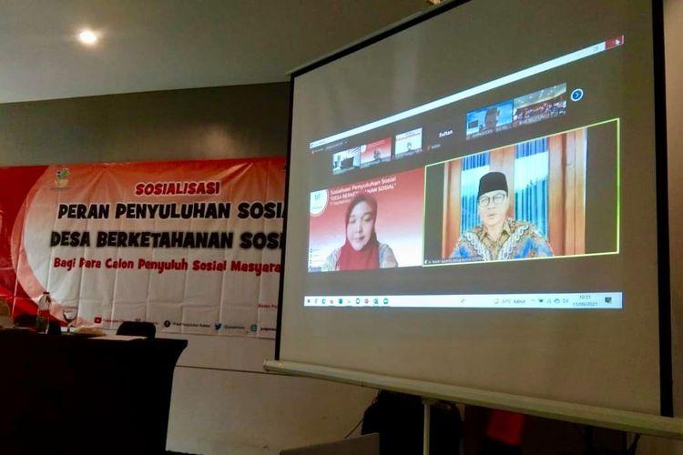 Kemensos menggelar acara ?Sosialisasi Penyuluhan Sosial, Desa Berketahanan Sosial? di Jakarta belum lama ini.