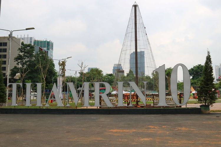 Halaman depan Pusat Kuliner MH. Thamrin, Jakarta Pusat