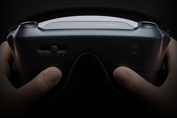 Ilustrasi Valve Index, Headset VR Besutan Valve