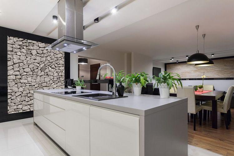 Ilustrasi dapur elegan