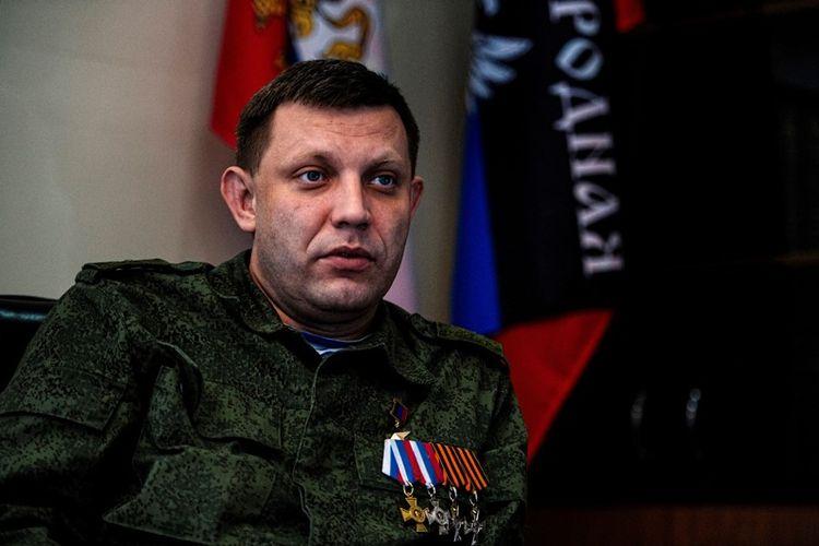Pemimpin pemberontak Ukraina, Alexander Zakharchenko.