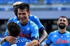 Napoli Menang di Liga Europa, Laga Tak Mudah di Tengah Duka Kepergian Maradona