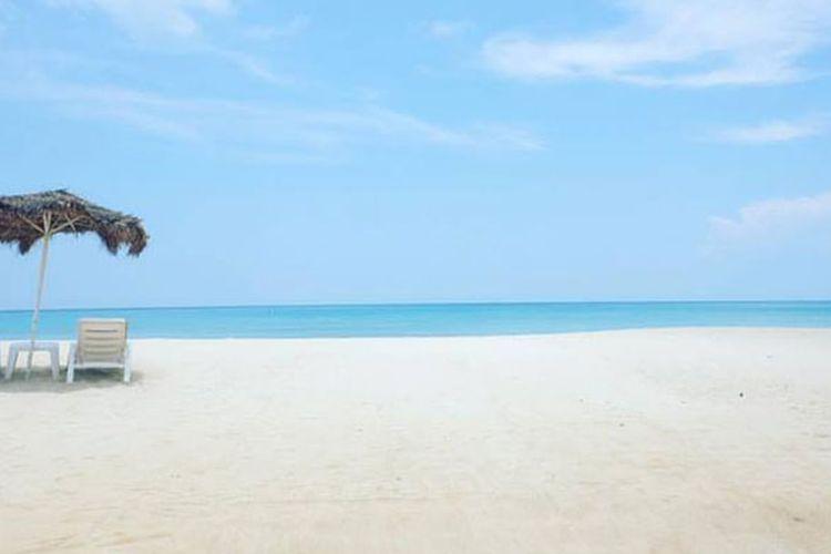 Lamai Beach di Koh Samui, Thailand.