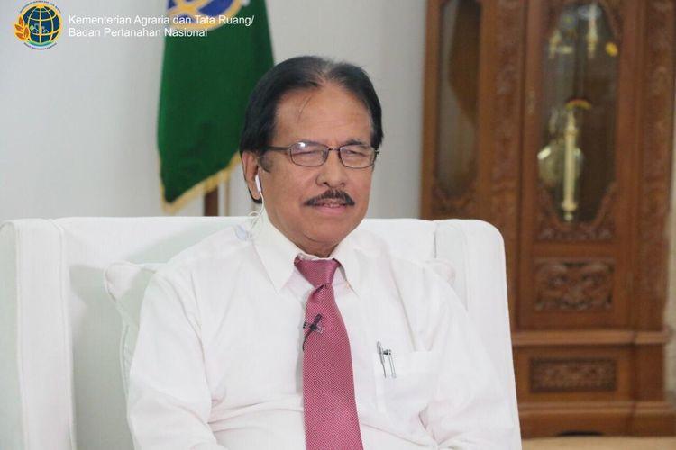 Sofyan A. Djalil Menteri ATR/Kepala BPN
