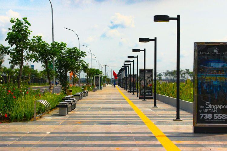 Citraland Gama City, hunian yang mengusung landmark ikonik Singapura seperti Orchard Road, Sabtu (25/5/2019)