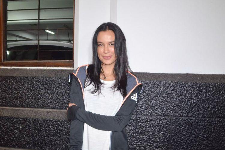 Artis peran Sophia Latjuba saat ditemui di sela shooting film Mata Batin 2 di Museum Mandiri, Kota Tua, Jakarta Barat, Rabu (5/8/2018).