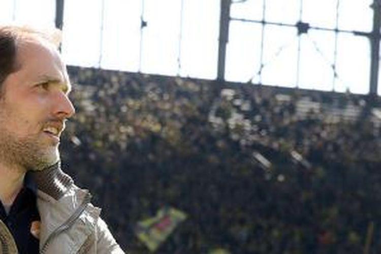 Thomas Tuchel melatih Borussia Dortmund mulai 1 Juli 2015.