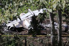 Pesawat Milik Angkatan Udara Meksiko Kecelakaan, Semua Penumpang Tewas