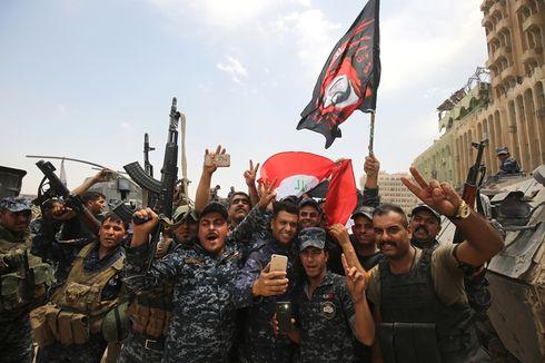 Perang Lawan ISIS di Mosul Berlanjut meski Irak Rayakan Kemenangan