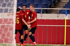Hasil Olimpiade Tokyo -  Spanyol Vs Argentina Imbang, La Roja Tetap Lolos ke Perempat Final