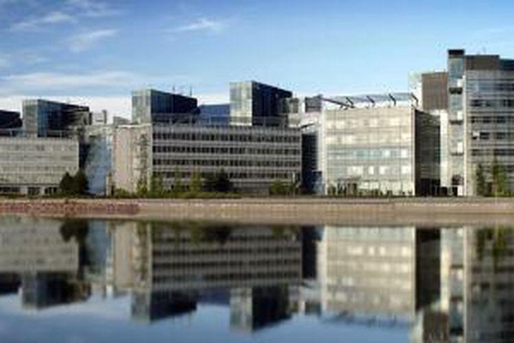 Kantor pusat Nokia di Espoo, Finlandia.