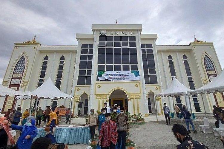Institut Agama Islam Negeri (IAIN) Palu meresmikan kampus barunya di Kabupaten Sigi, Sulawesi Tengah.