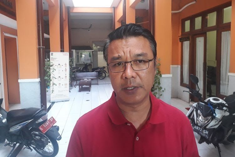 Koordinator Protokol Komunikasi Gugus Tugas Percepatan Penanganan Covid-19 Surabaya M. Fikser
